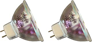 EFOS 4084 ENZ 2pcs ENZ 30V 50W Donar Bulb RM-116 for USHIO 1000339 ORBITEC 130284 63122 Eiko ENZ PRO-DEN Systems PRO CAM C1000 Prodentec Caulk 640 40840 Damar 4213A Halogen Lamp