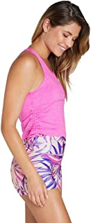 Rockwear Activewear Women's Courage Crop Tank Shocking Pink 8 from Size 4-18 for Singlets Tops