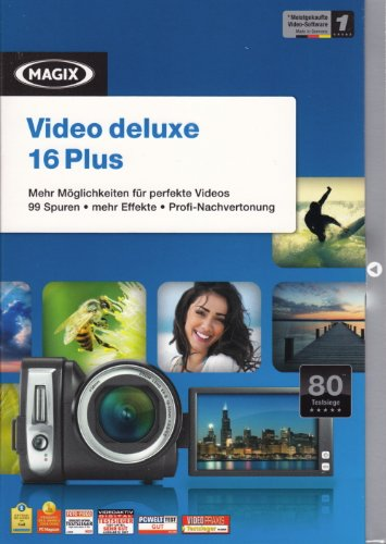 MAGIX Video deluxe 16 Plus (Minibox)