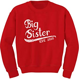Big Sister Est 2020 - Sibling Gift Idea Toddler/Kids Sweatshirt