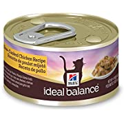 Hill'S Ideal Balance Adult Wet Cat Food, Slow-Cooked Chicken Recipe Canned Cat Food, 2.9 Oz, 24 Pack