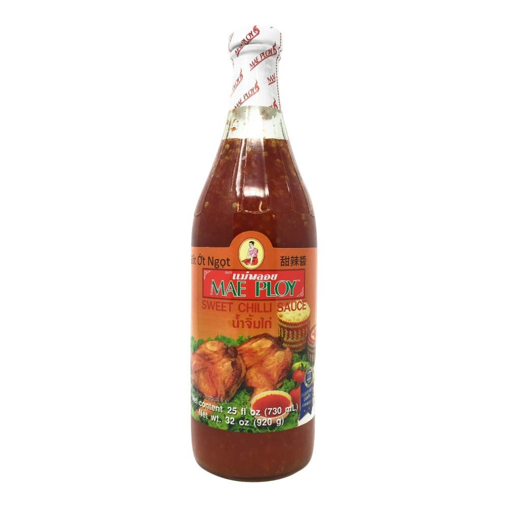 Amazon Com Mae Ploy Sweet Chili Sauce 25 Fl Oz Bottle Grocery Gourmet Food