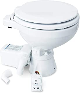 Albin Pump Marine Toilet Silent Electric Compact - 12 V.