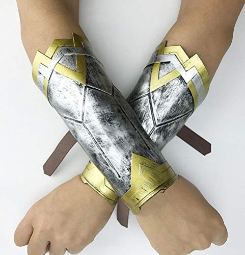 YWPARTY Super Hero Guauntlets Réplica de brazaletes para niñas y mujeres, accesorios de disfraz