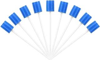 ROSENICE Esponja de limpieza dental hisopos bucales esponjas desechables para el cuidado oral hisopos orales 100 piezas