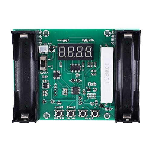 Find Bargain Capacity Tester, XH-M240 Tester Module for 18650 Lithium Battery Voltage Discharge Capa...