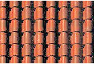 JTT Scenery Products Plastic Pattern Sheets: Spanish Tile