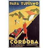 YYone Art Printing Poster Cordoba Argentina C. 1935 Wall