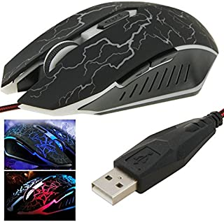 WYAN AE USB 6D Wired Optical Magic Gaming Mouse for Computer PC Laptop