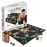 SKYLINE, Trivial Pursuit Harry Potter, Juego de Mesa, 1800 Preguntas, Hogwarts, Multicolor, Talla Única (Versión Español)