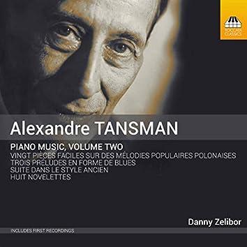 Tansman: Piano Music, Vol. 2