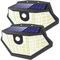 2-Pack Super Bright 194 LED Outdoor Lights for Garden Patio Porch Yard