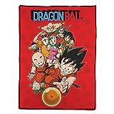 SD toys- Personajes y Bola DB Manta Polar Dragon Ball, Color (SDTDRB22104)
