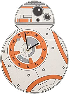 Vandor Star Wars Episode VII BB-8 Shaped Deco Wall Clock (99189)