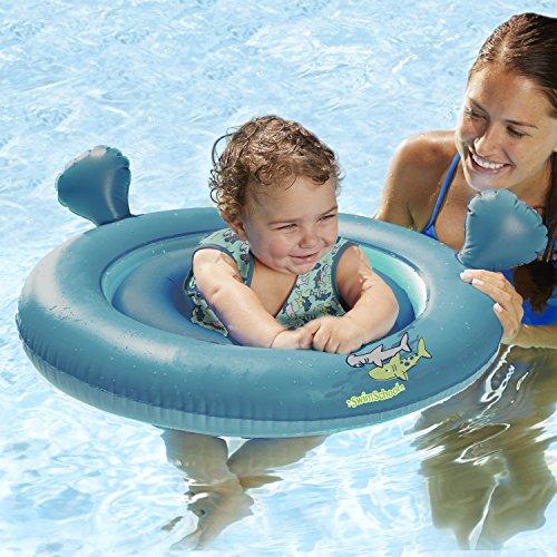 SwimSchool 2-in-1 Swim System, Baby Boat & Tot Trainer - Best Baby Pool Float
