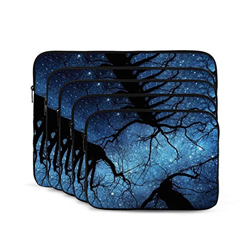 Tree Blue Skys Laptop Sleeve 15 inch, Shock Resistant Notebook Briefcase, Computer Protective Bag, Tablet Carrying Case for MacBook Pro/MacBook Air/Asus/Dell/Lenovo/Hp/Samsung/Sony