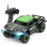 4WD RC Camion Rock Crawler Car 2.4Ghz dell'automobile di telecomando ad alta velocità Off-Road RC veicoli di modello giocattoli for i ragazzi di Halloween, il migliore regalo for il bambino (colore: v