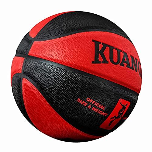 YCX Baloncesto Cuero PU Interior Y Exterior Competencia Resistente Al Desgaste Baloncesto De Lujo Tamaño 7 Juego Bola Designada De La Liga
