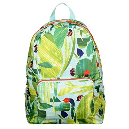 Oilily Rucksack Nature Folding Casual Backpack Leaf Kinder Rucksack Grün