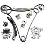 Timing Chain Kit w/Water Pump & Oil Pump Compatible With Nissan Altima Maxima Murano Infiniti FX35 G35 I35 M35 350Z 3.5L V6 DOHC VQ35DE