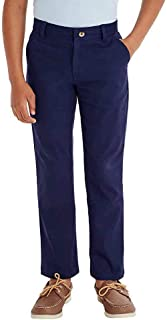French Toast Boys` Adjustable Waist Stretch Straight Fit Chino Pant