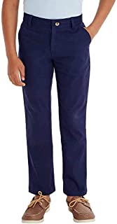 French Toast Boys' Adjustable Waist Stretch Straight Fit Chino Pant