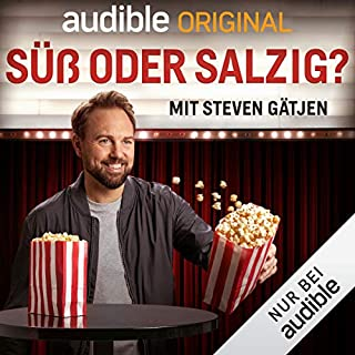 Süß oder salzig? Mit Steven Gätjen (Original Podcast)                   Autor:                                                                                                                                 Süß oder salzig? Mit Steven Gätjen                               Sprecher:                                                                                                                                 Steven Gätjen                      Spieldauer: 9 Std.     225 Bewertungen     Gesamt 4,5
