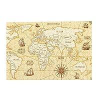 300ピース ジグソーパズル パズル ベクトルアンティーク世界地図国 (26 X 38cm)