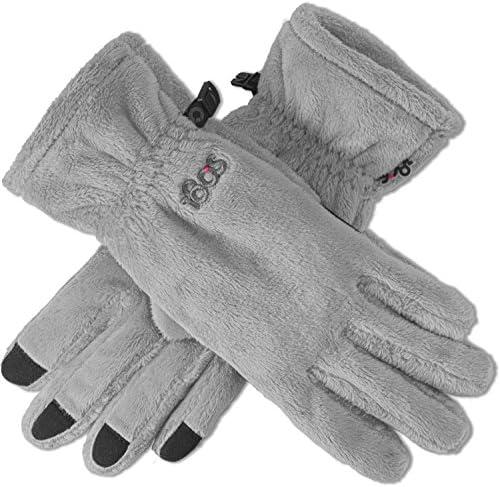 180's Women's Lush Gloves - (Grey/Black, Large)