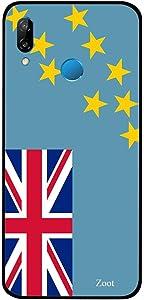 Huawei Nova 3 Case Cover Tuvalu Flag, Zoot Designer Phone Covers