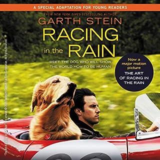 Racing in the Rain audiobook cover art