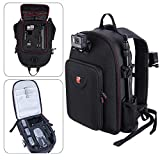 Smatree Travel Backpack Compatible <span class='highlight'>for</span> DJI Mavic 2 Pro/Zoom <span class='highlight'>Drone</span> with Smart Controller/<span class='highlight'>GoPro</span> <span class='highlight'>HERO</span> 2018, <span class='highlight'>HERO</span>7/6/5/4/3/2/1 Camera