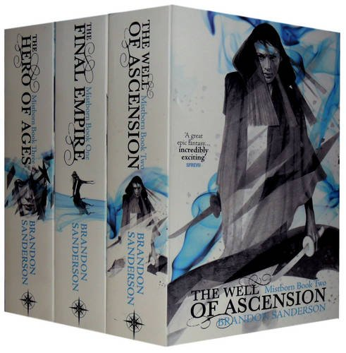 Mistborn Trilogy: The Hero of Ages, the Well of Ascension and the Final Empire