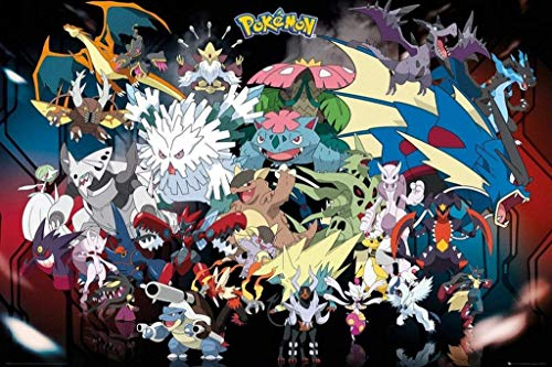 Pokèmon GB Eye, Mega, Maxi Poster, 61x91.5cm, Multicolor (FP3813)