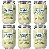 Nutribén Potitos De Crema De Patatas, Puerro Y Zanahoria, Desde Los 6 Meses Pack de 6 x 235gr