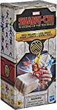 Marvel Superhero Shang-Chi and The Legend of The Ten Rings Brick Breaker, 5 Collectible Mini-Figure Toys in Break-Open Box for Kids Ages 5 and Up