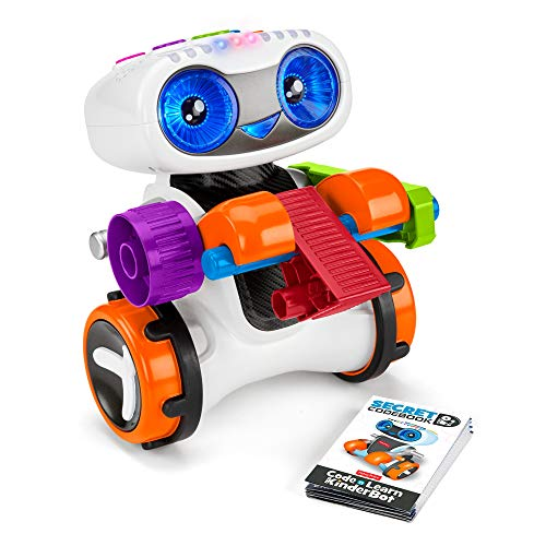 Our #4 Pick is the Fisher-Price Code 'n Learn Kinderbot Robot Toy for Kids