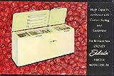 Crosley 'Soft-Glo Shelvador' Freezer (Vintage Color Advertising Postcard) (#HF82)