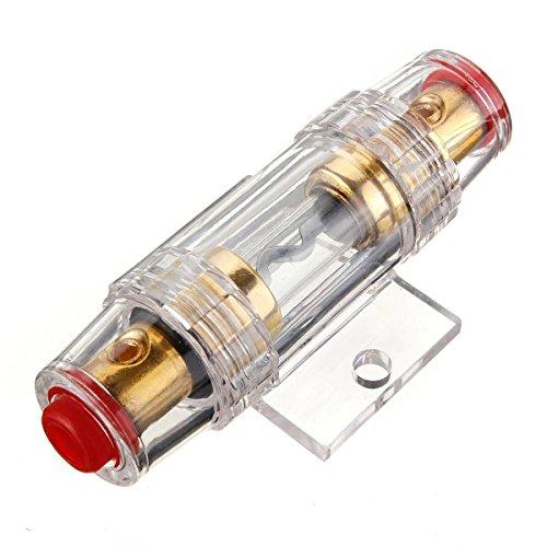 Porte-fusible - SODIAL(R)Voiture Stereo 8 Gauge AGU Support Porte Fusible et Fuse 60 Amp Audio Cable