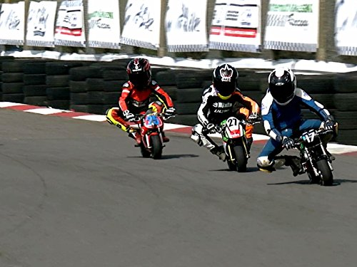 2017 Cool Fab Racing British Minibikes Championship Round 1 Llandow