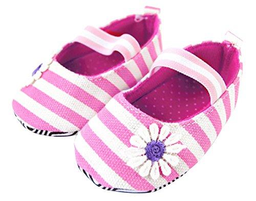Axy Baby plastique Tapis Chaussures Chaussures bébé 0 à 12 mois – Little Princess – Rose BS4–1 - Rose - rose bonbon,