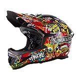 O'Neal 0615C-704 Warp Bicycle Helmet, Crank, Large