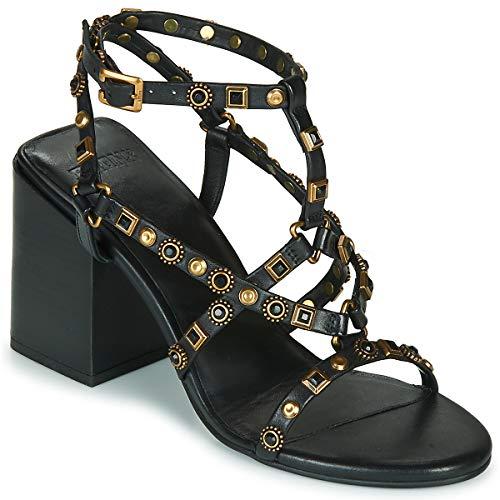Bronx Meave Star Sandalen/Sandaletten Damen Schwarz - 40 - Sandalen/Sandaletten Shoes