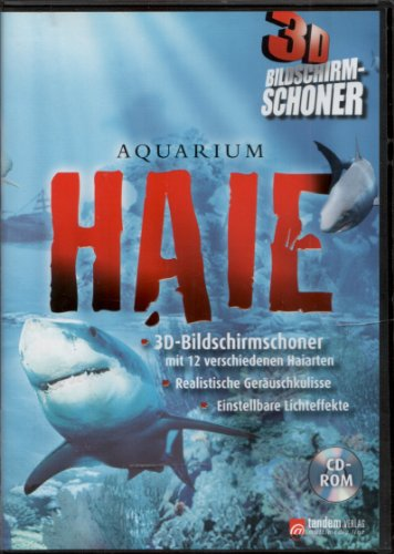 [A] Gebraucht: Aquarium Haie ° 3D Bildschirmschoner - PC