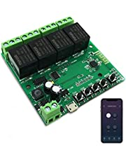 Newgoal WiFi Jog-relais Momentary/Zelfvergrendelende schakelaar DIY-module Smart Home Automation APP-bediening Compatibel Alexa/Google Assistant/IFTTT