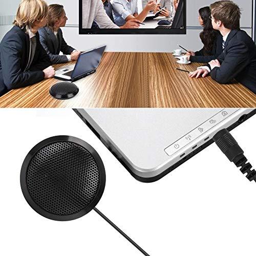 Socobeta - Microfono da scrivania per computer, microfono da conferenza, USB Online per Mac Gaming Skype