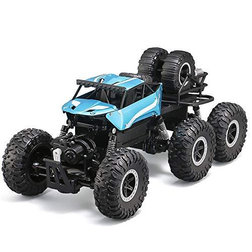 Weaston 6WD Off-Road RC Truck 1/12 Super Large Modelo Control Remoto Coche Bigfoot Monster Climbing RC Vehículo Adecuado para 4-16 años de Edad para Adultos Regalo de Juguete para niños
