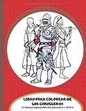 Libro para colorear de los caballeros 30 Ilustración medieval para niños y adultos: Ejército Medieval con Armadura – Vestido