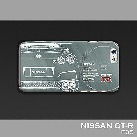 「日産(NISSAN) GT-R」 iPhoneケース(ポリカーボネート) for R35 (iPhoneSE(初代)/5/5S)