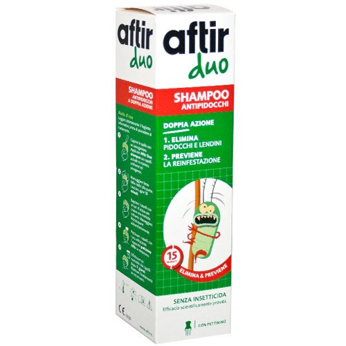 Aftir duo shampoo antipidocchi doppia azione 100ml